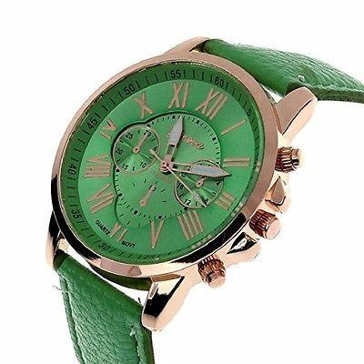 Geneva Mint Chronograph Watch