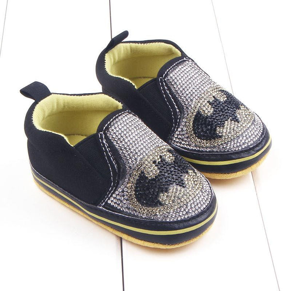 Baby Superhero Canvas Sneakers