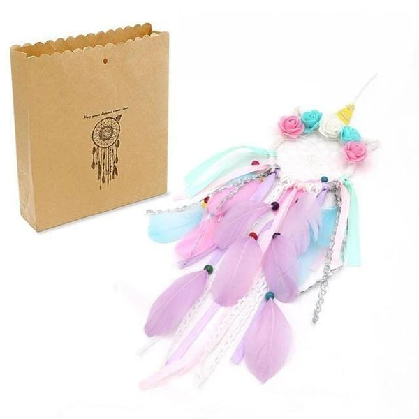 Fairy and Unicorn Handmade Dreamcatcher