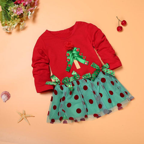 Baby Holiday Tree Dress