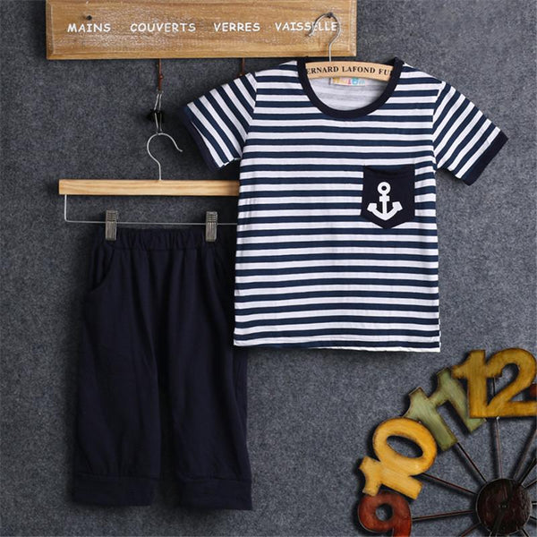 Kids Anchor 2 Piece Jogger Set