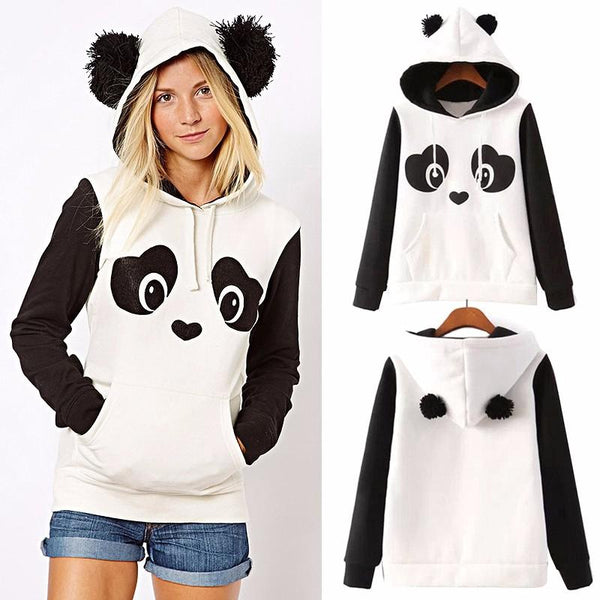 Adult Panda Ear Sweatshirt