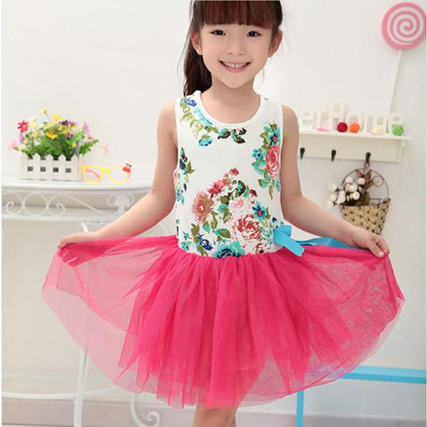 [FREE TODAY] Floral Tutu Dress for Girls