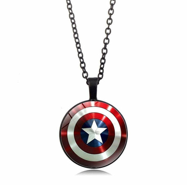 Marvel Captain America Shield Necklace