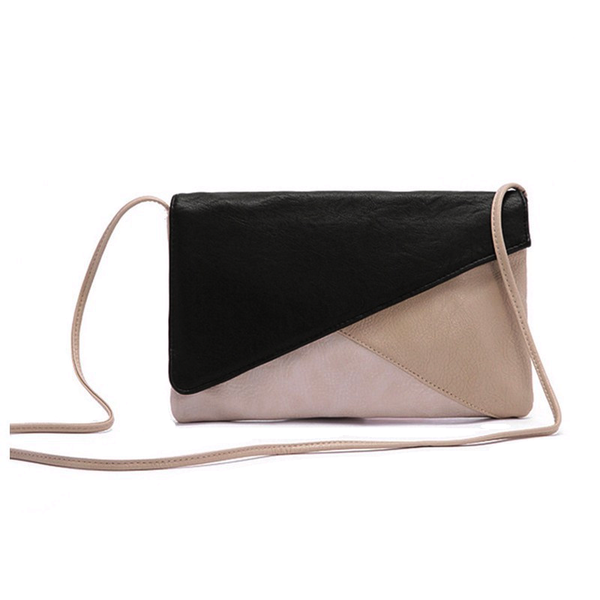 Patchwork Envelope Crossbody