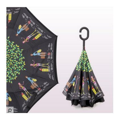 Colorful Inverted Umbrella