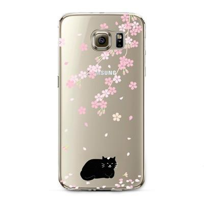 Transparent Cat Samsung Cover - Promotional Giveaway