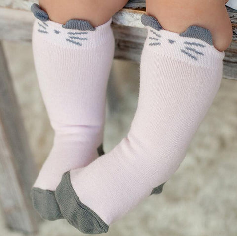 Animal Socks for Babies (Floor Safe)