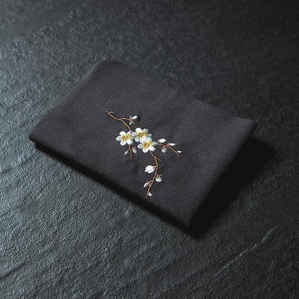 Vintage Embroidered Tea Napkins