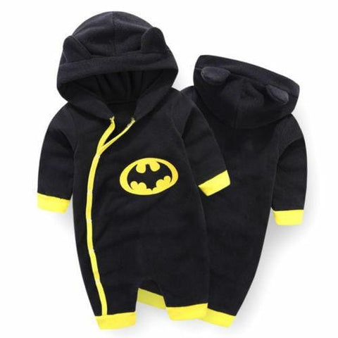 Hooded Batman Romper