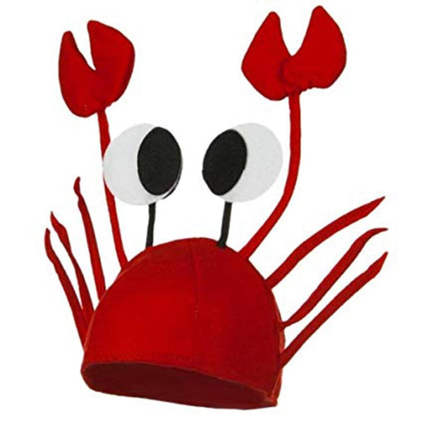 Unisex Red Lobster Costume Hat