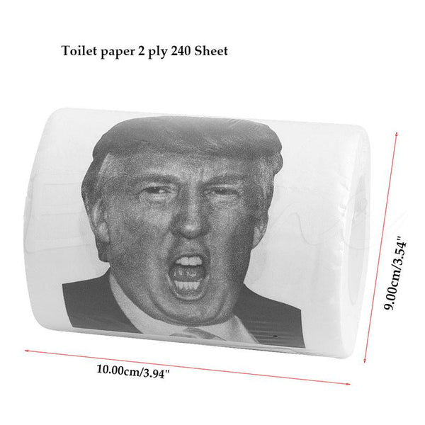 Donald Trump Toilet Paper Roll FREE OFFER