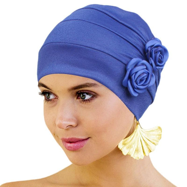 Women Rose Head Wrap