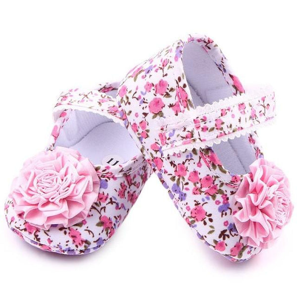 Baby Floral Mary Janes