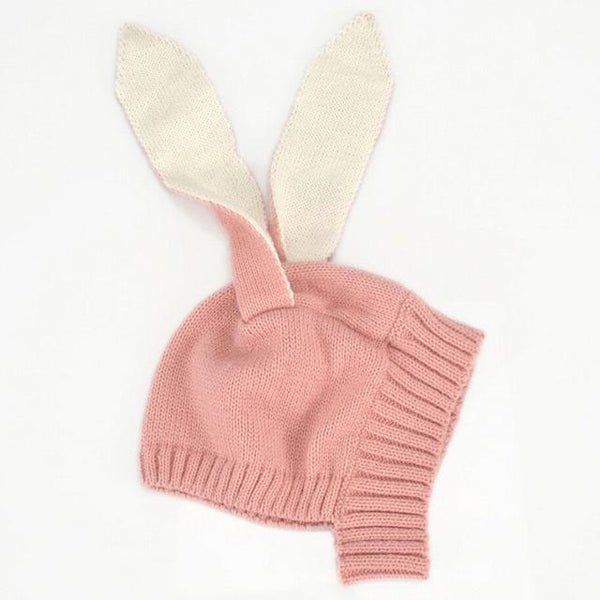 Rabbit Ear Knit Cap