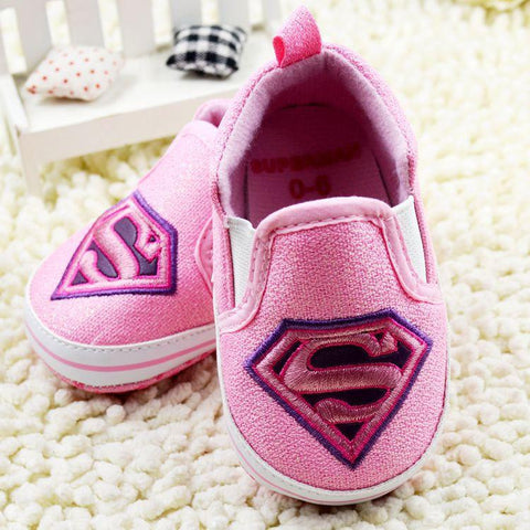 Baby Superhero Canvas Sneakers - FREE TODAY