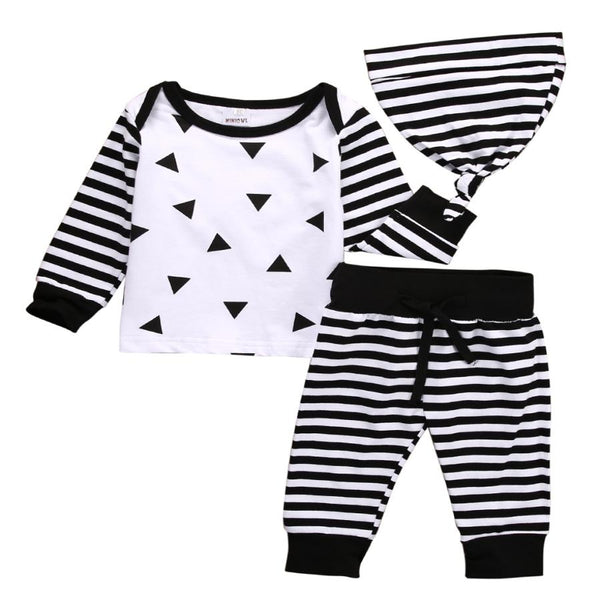 Baby Geometric 3 Piece Set