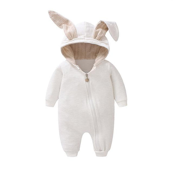 Baby Bunny Hooded Onesie