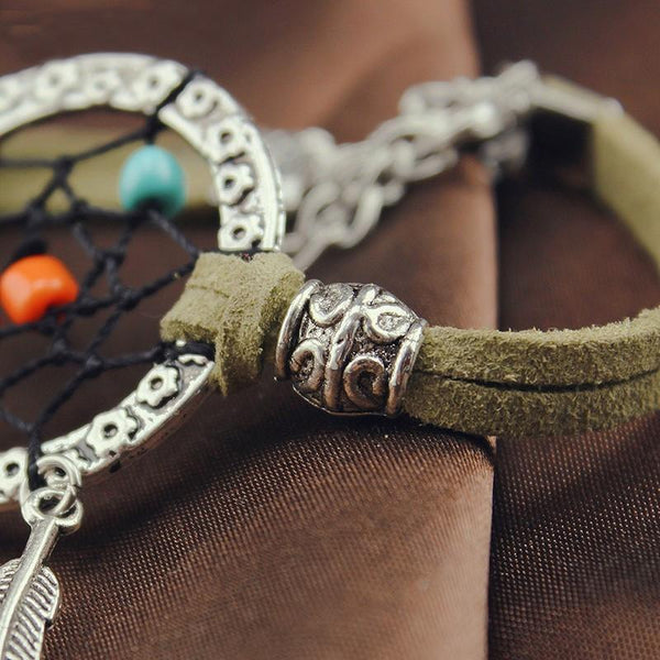 Enchanted Forest Dreamcatcher Bracelet