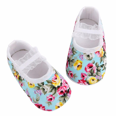 Baby Flower Cotton Shoes