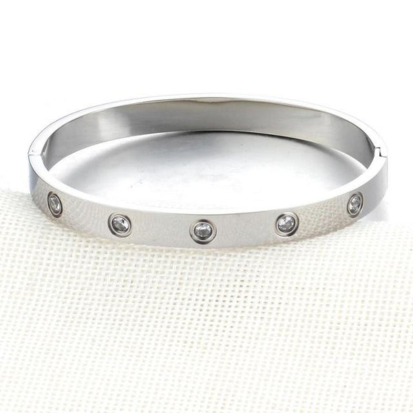 Women's Crystal Bangle