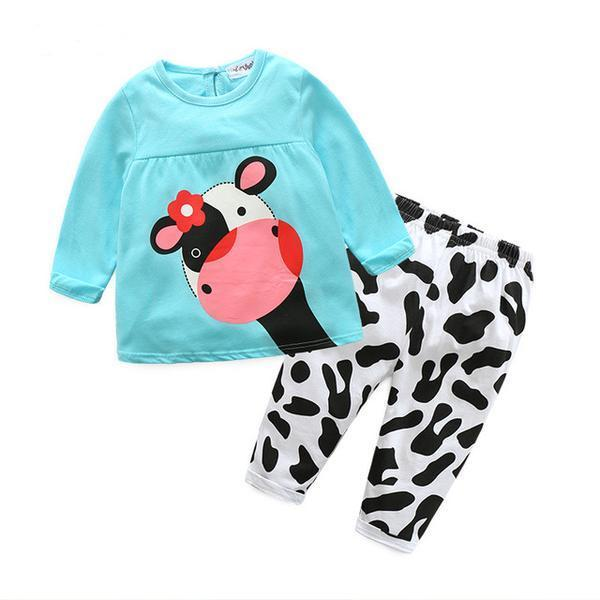 Baby Girl Cow 2 Piece Set