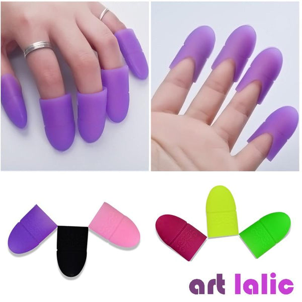 5pcs Nail Art Tips UV Gel Polish Remover