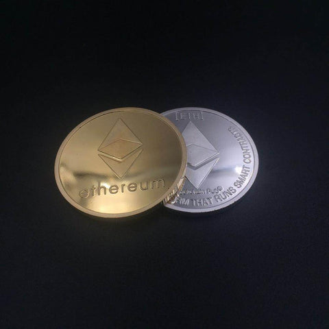 Collectible Ethereum Coin Replica