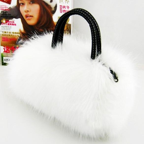 Women's Faux Fur Handbag