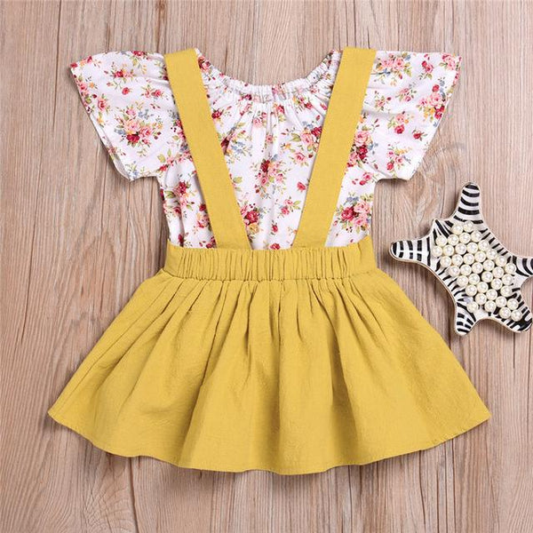Baby Floral Criss Cross Jumper