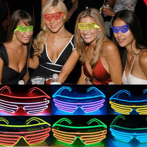LED Luminous Flash Glasses Eyewear