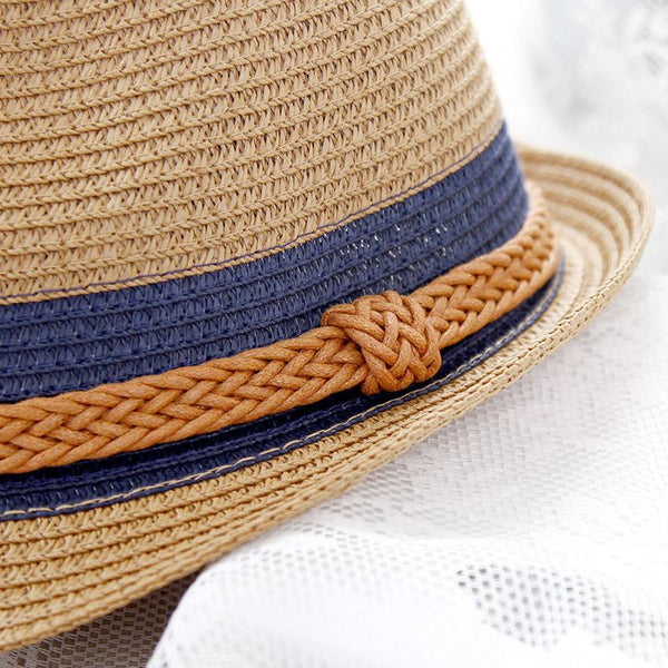 Braided Beach Hat