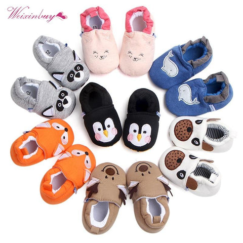 Baby Animal Slip On Shoes