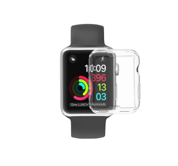 Clear Screen Protector Soft Case For Apple Watch
