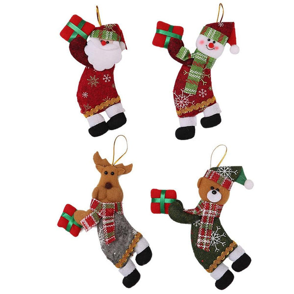 Plush Christmas Tree Ornaments