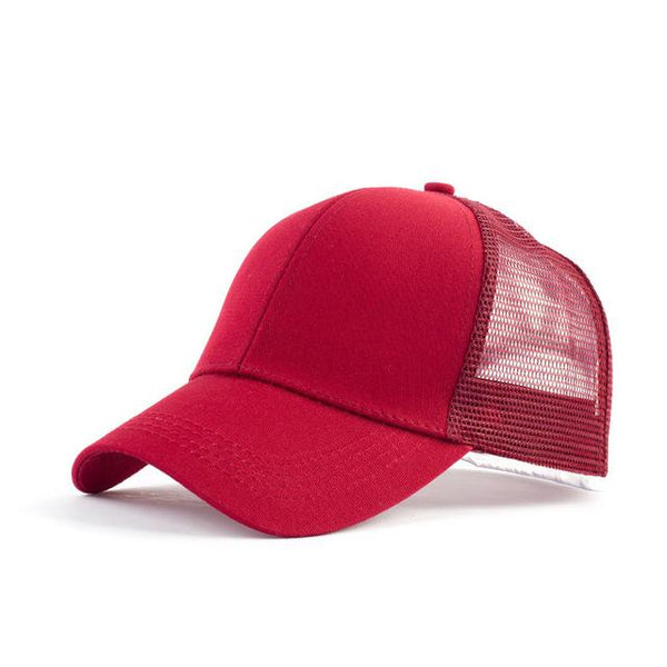 Mesh Adjustable Baseball Hat