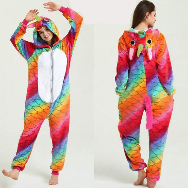 Onesie Cosplay Pajamas for Adults