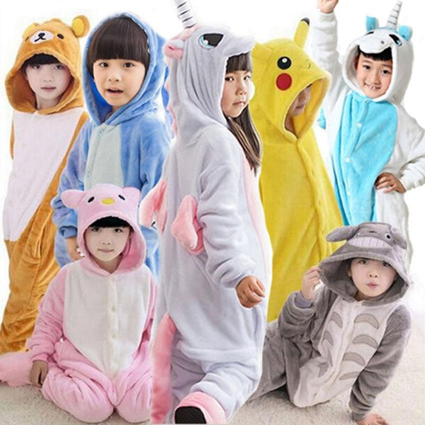 Onesie Cosplay Pajamas for Kids