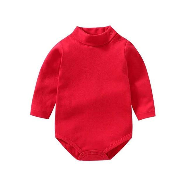 Baby Long-Sleeved Winter Jumpsuit