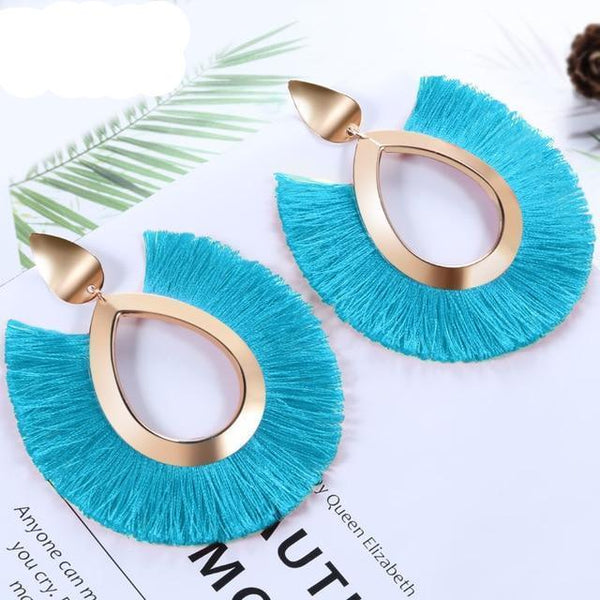 Women's Boho Tassel Drop Earrings