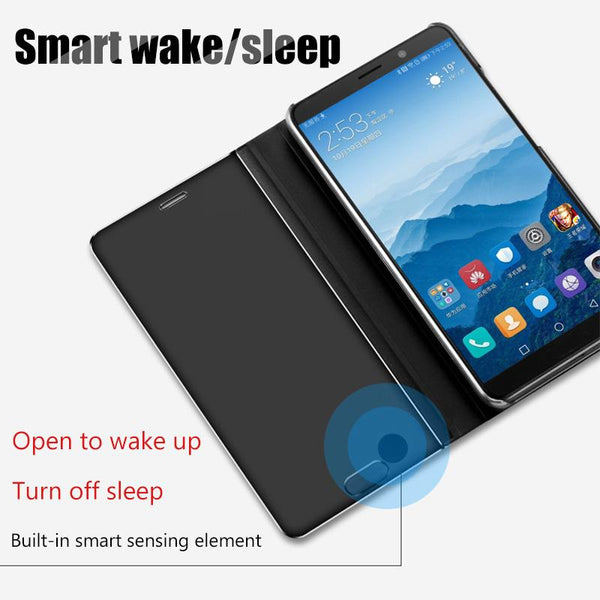 Flip Mirror Case For Samsung