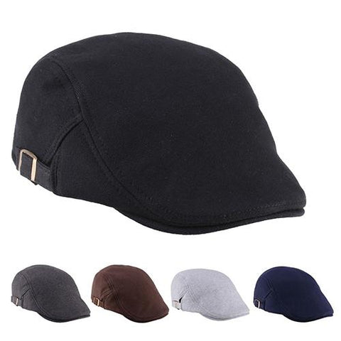 Casual Cotton Duckbill Cap