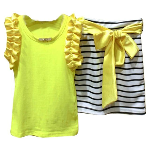 Baby Girl's Summer Tank Top Set