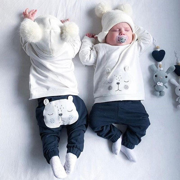 Bear Winter Baby Outfit
