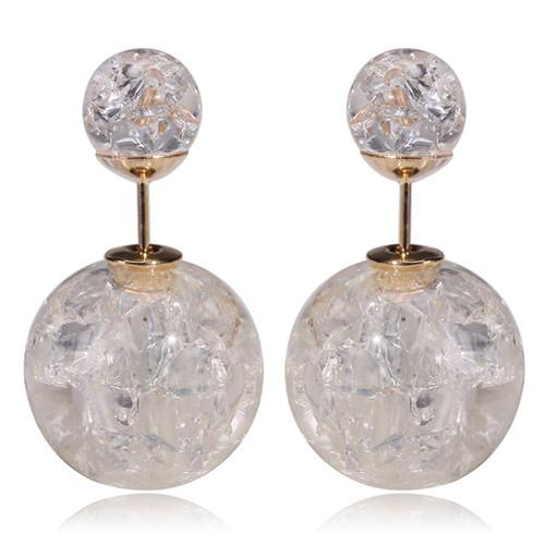 Main Double Stud Earrings