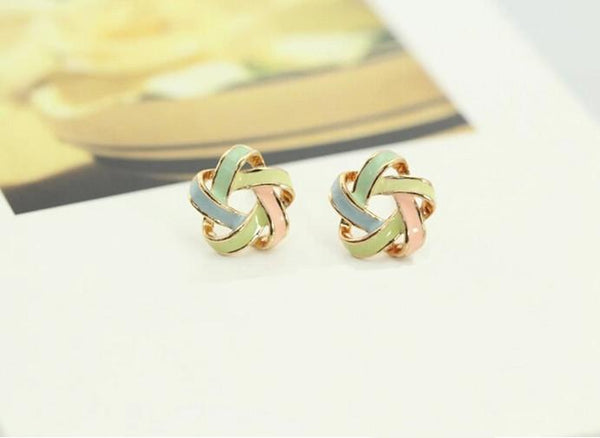 Color Stripe Earrings