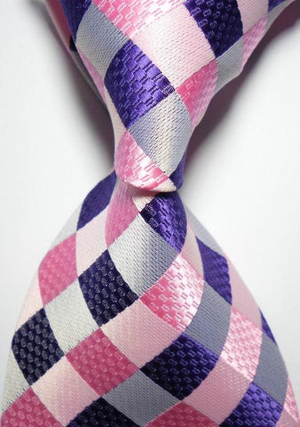Large Checkered Neck Tie
