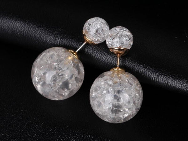 Unique Double Stud Earrings