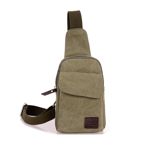 Canvas Mono Sling Backpack