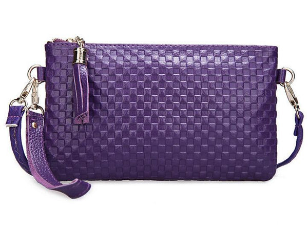 Quilted Pattern Clutch